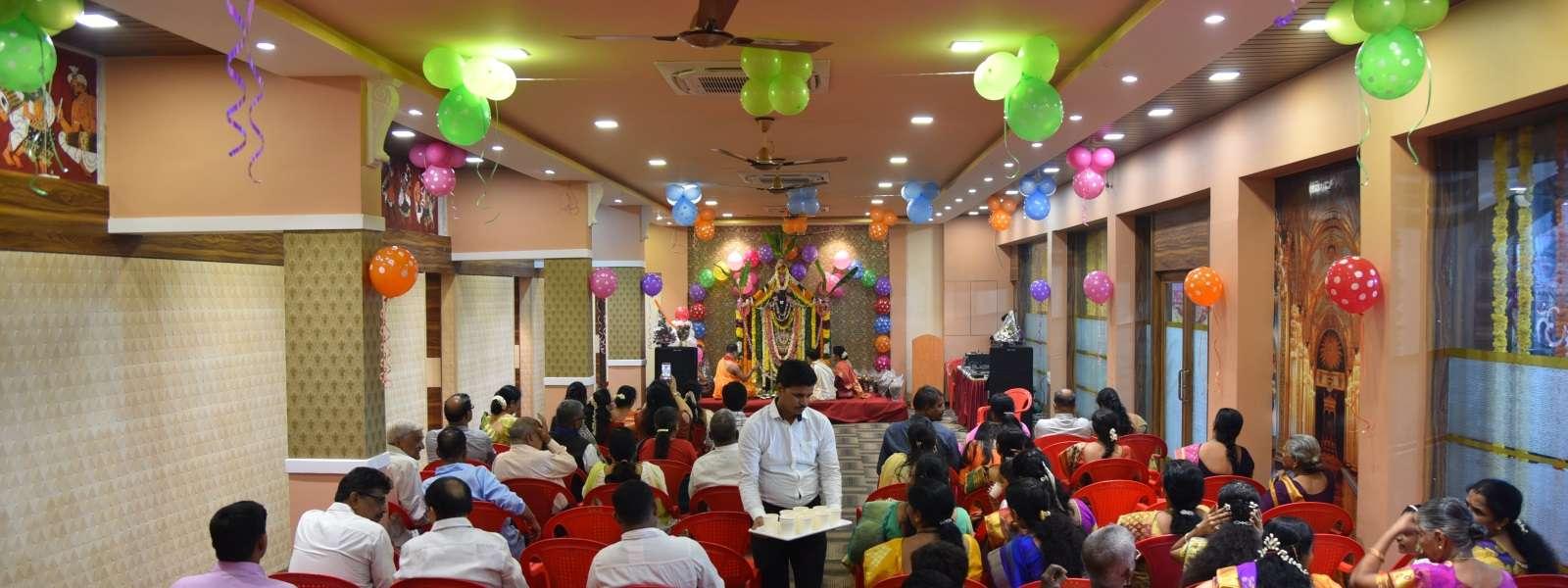 Pooja at Sarovar Annexe Banquet