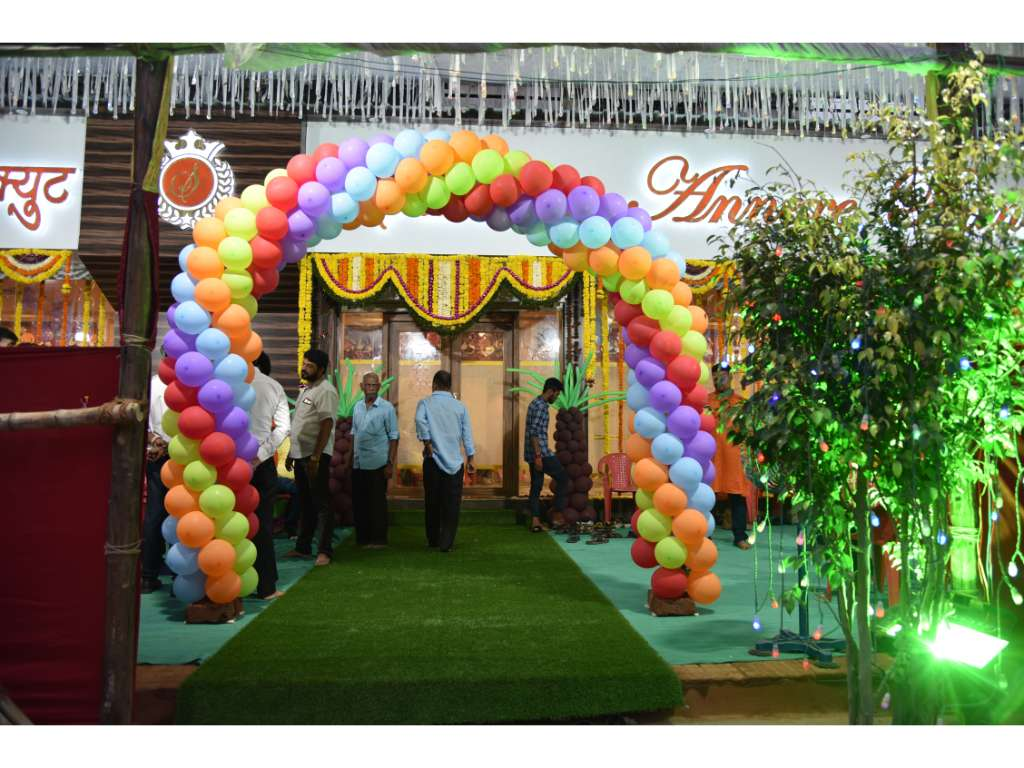 Balloon Entrance Gate at Sarovar Annexe Kamothe