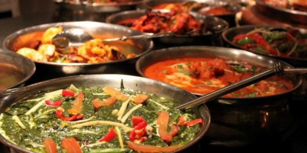 indian veg buffet