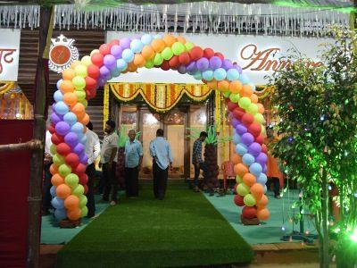 Entrace Baloon Decor Sarovar 400 x 300