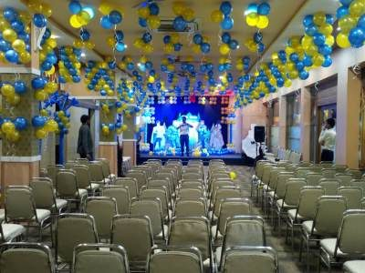 Party Decoration at Sarovar Annexe Hall Kamothe